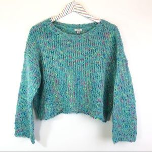 NEW Ecote Speckled Boxy sweater